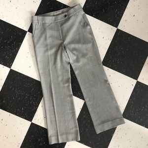maxmara - wool herringbone dress pants